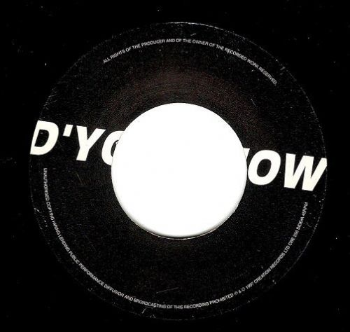 OASIS D'You Know What I Mean Vinyl Record 7 Inch Creation 1997...